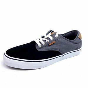 Vans Mens 10 Chima Ferguson Skate Shoes Black Gray